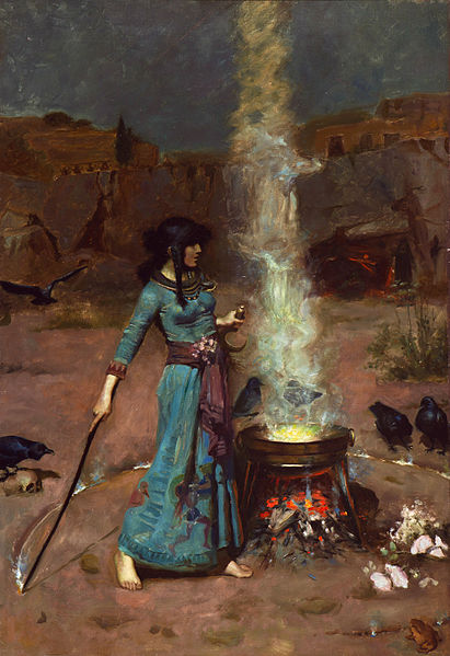 411px-The_magic_circle,_by_John_William_Waterhouse